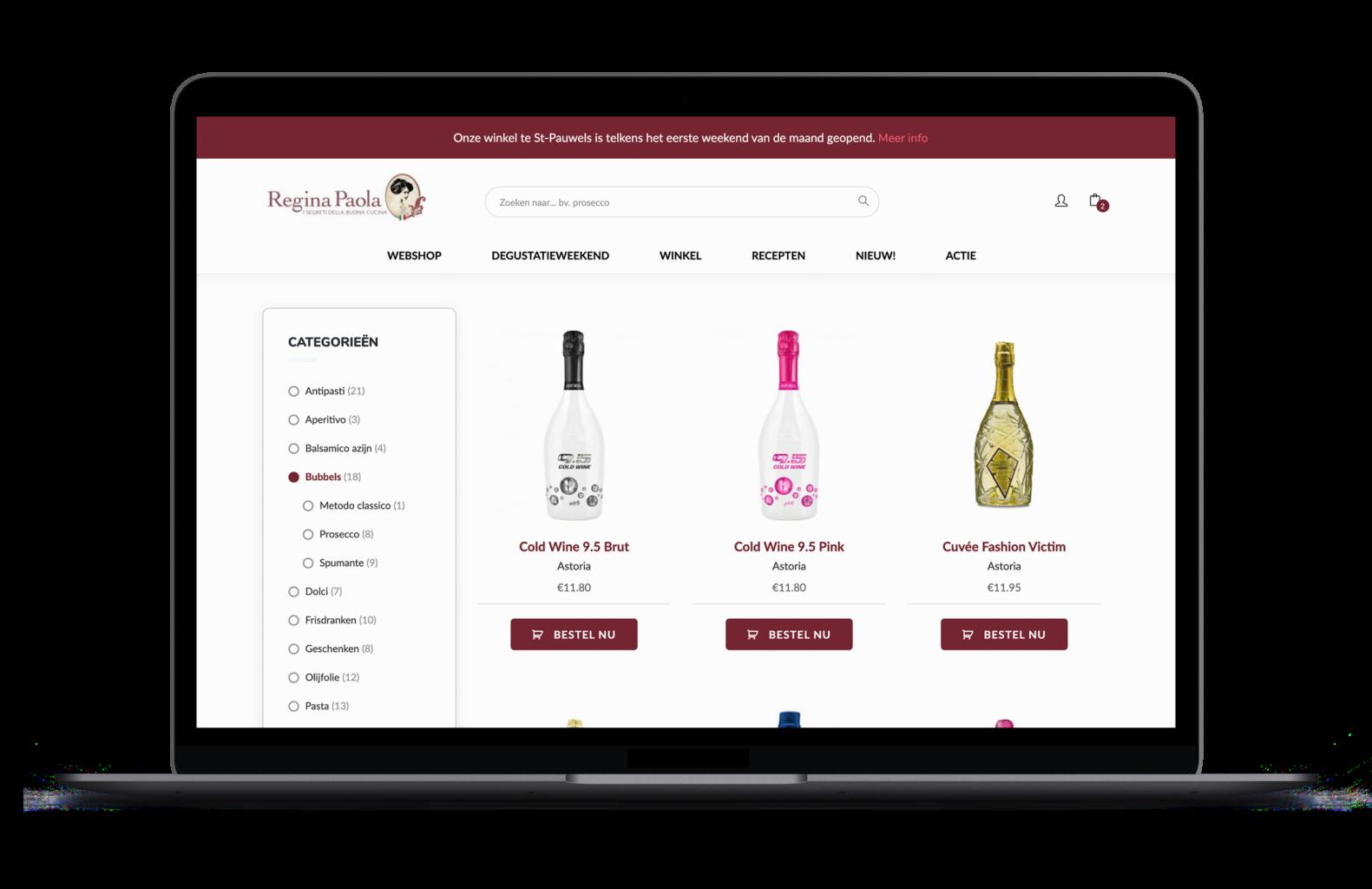 website-regina-paola