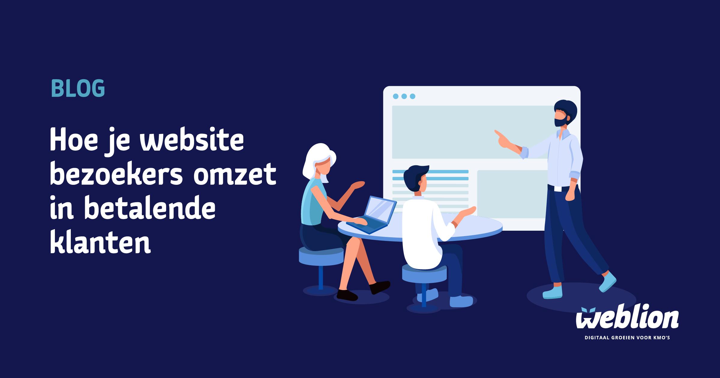 Hoe je website bezoekers omzet in betalende klanten 1
